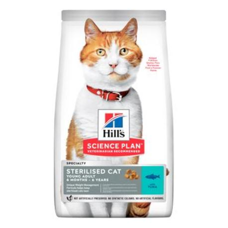 Hill's Fel. Dry Adult Young Sterilised Cat Tuna 10kg