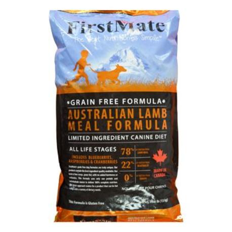 First Mate Dog Australian Lamb 13kg