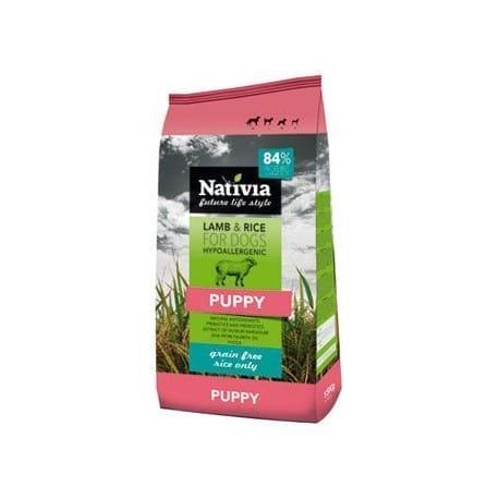 Nativia Dog Puppy Lamb&Rice 15kg