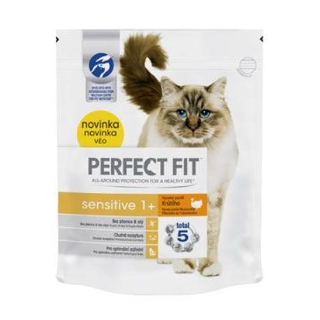 Perfect Fit CAT Sensitive 1+ s krůtím 750g