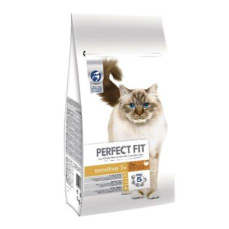 Perfect Fit CAT Sensitive 1+ s krůtím 7kg