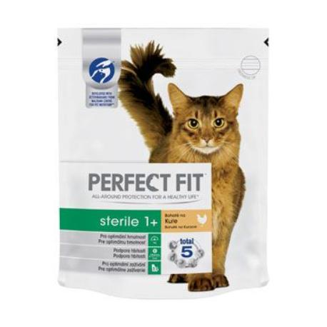 Perfect Fit CAT Sterile 1+ s kuřecím 750g