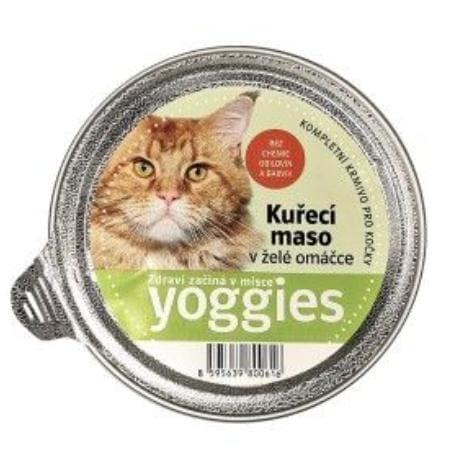 Yoggies mistička s kuřecími kousky masa v želé 85g