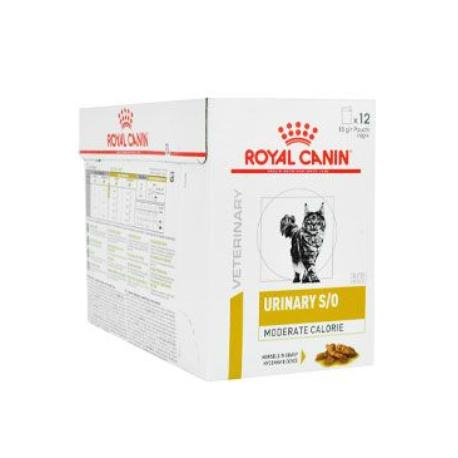 Royal Canin VD Feline UrinaryMod Calor 12x85g kapsa