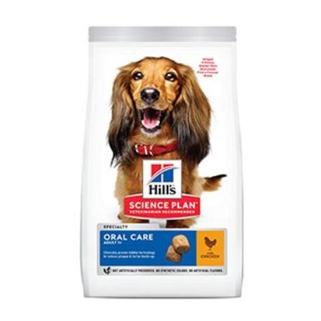 Hill's Can.Dry SP Oral Care Adult Medium Chicken 12kg