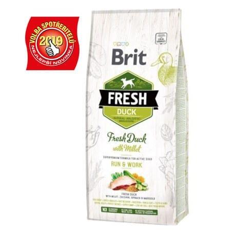 Brit Dog Fresh Duck & Millet Active Run & Work 2,5kg
