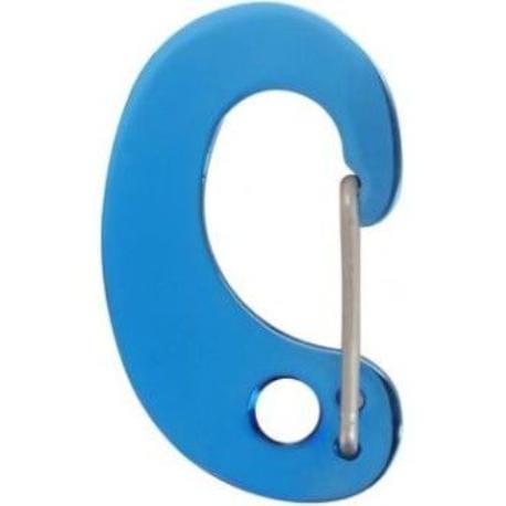 Karabinka na známku Small modrá 1ks