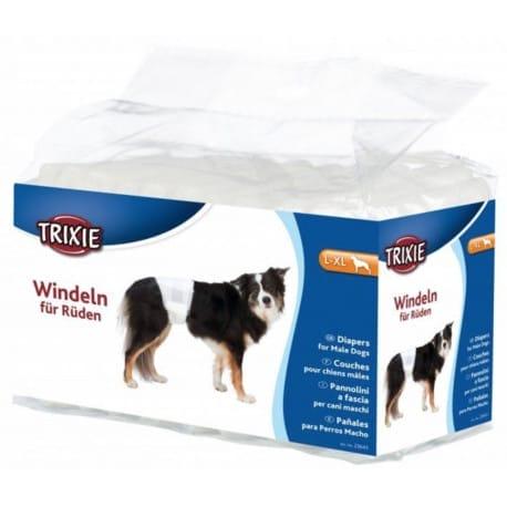 Papírové pleny pro psy L-XL 12ks/bal. TR