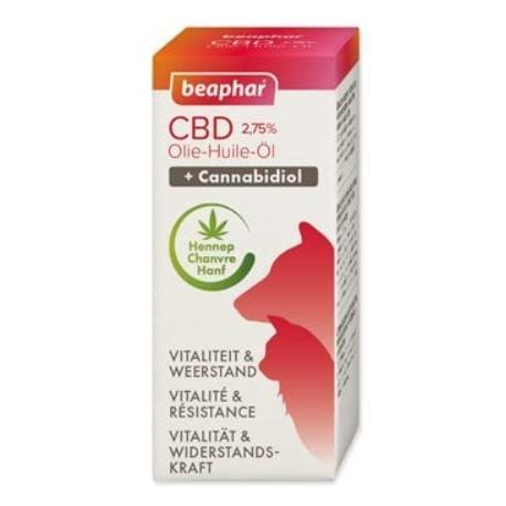 Beaphar olej CBD VET 2,75% 10ml