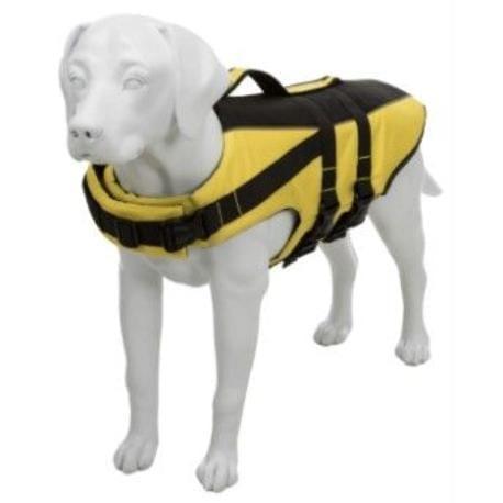 Life Vest plavací vesta pro psa S 35cm žlutočerná TR