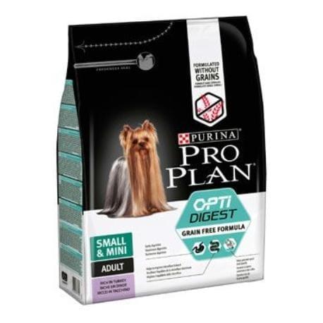 ProPlan Dog Adult Sm&Mini OptiDigest GrainFr krůt 700g