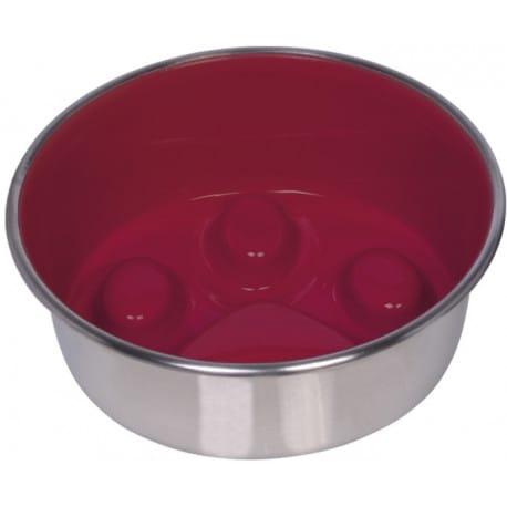 Nobby PAW protihltací miska červená nerez 16 cm 820ml