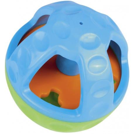 Nobby Active silná hračka s otvorem na pamlsky a zvukem 13 cm