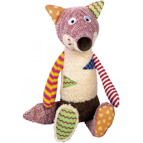 Nobby hračka pro psy liška s pískátkem 33 cm