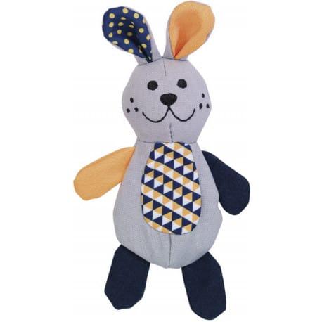 Nobby hračka pro kočky králík plnitelný catnipem 16 cm