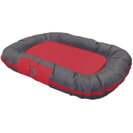 Nobby RENO odolný polštář pro psy červená 80x58x10cm