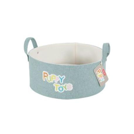 Koš na hračky PUPPY mentolová Zolux