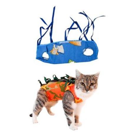 """Ochranná košilka """"LENKA"""" kočka velikost L 1ks"""