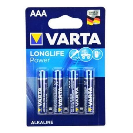 VARTA Baterie Longlife Power AAA 4ks