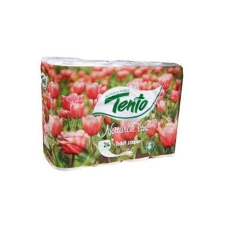 Wc toaletní papír TENTO Natural line 3V 24ks