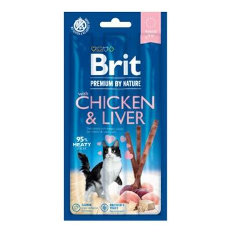 Brit Premium Cat by Nature Sticks Chicken&Liver(3pcs)