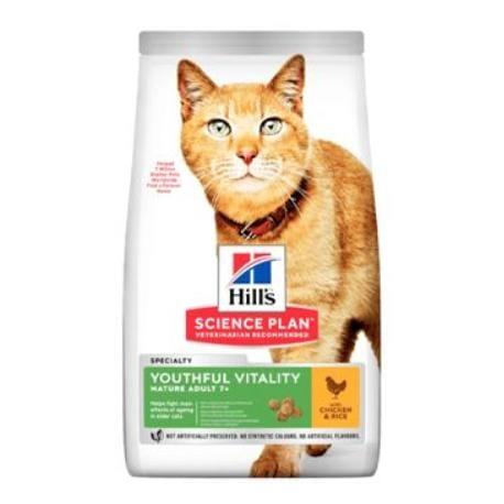 Hill's Fel. Dry SP Adult7+Senior Vitality Chicken 1,5g