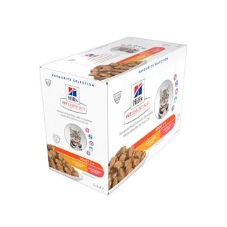 Hill's Fel.kapsa VE Adult Chicken Salmon 12x85g