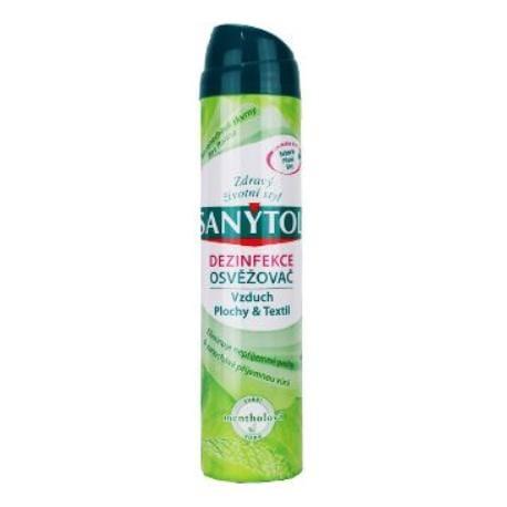 SANYTOL dezinfekční osvěž.vzduchu s menthol vůní 300ml