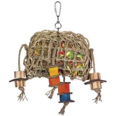 Nobby aktivní hračka pro papoušky mořská řasa 29 x 21