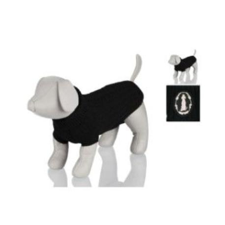 Černý svetr King of Dogs M 45cm TR