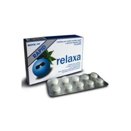 Relaxa RAPID pastilky 30ks