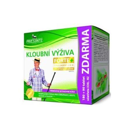 Priessnitz Kloubní výživa Forte+kolagen 180tbl+90