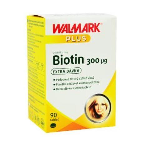 Biotin Walmark 300mcg 90tbl