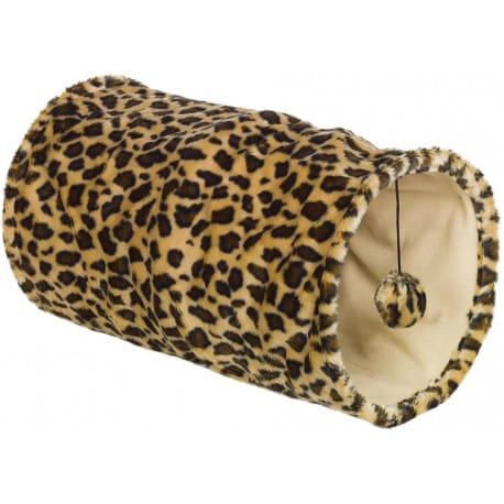 Nobby LEOPARD tunel pro kočky leopardí vzor 25x50cm