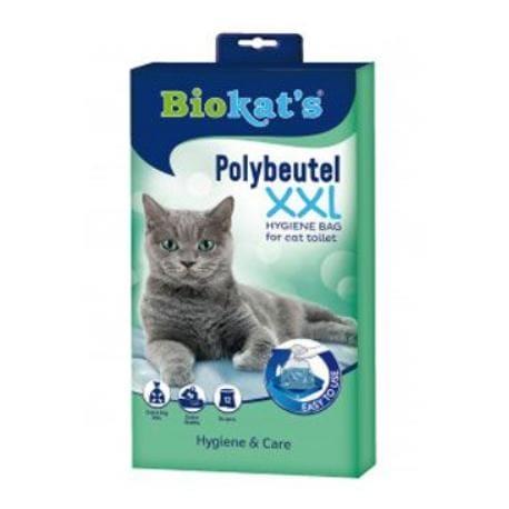 Sáčky do kočičích toalet Biokat's XXL 12ks