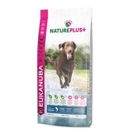 Eukanuba Dog Nature Plus+ Adult Large froz Salm 2,3kg