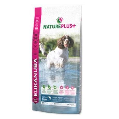 Eukanuba Dog Nature Plus+ Adult Med. froz Salm 2,3kg