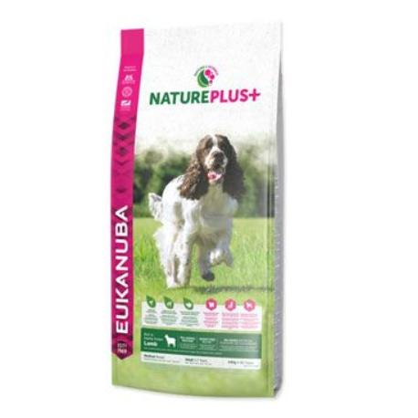 Eukanuba Dog Nature Plus+ Adult Med. froz Lamb 2,3kg