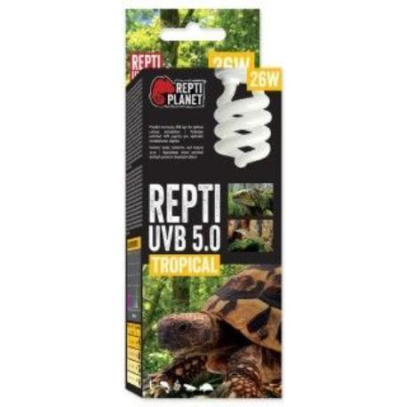 ReptiPlanet Žárovka REPTI UVB 5.0 26W Tropical