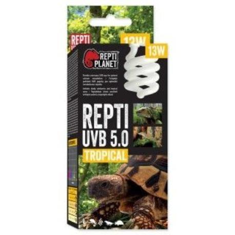 ReptiPlanet Žárovka REPTI UVB 5.0 13W Tropical
