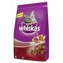Whiskas Dry s hovězím masem 300g