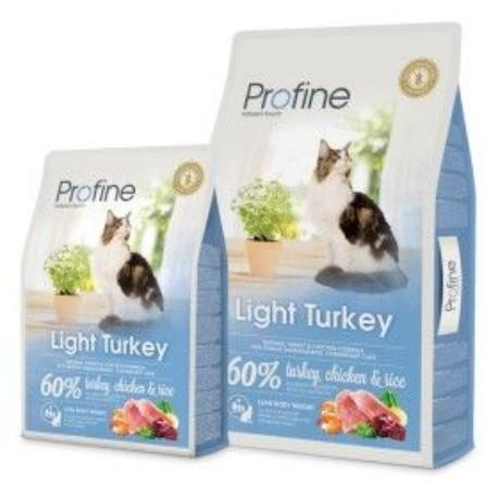 Profine Cat Light Turkey 10kg