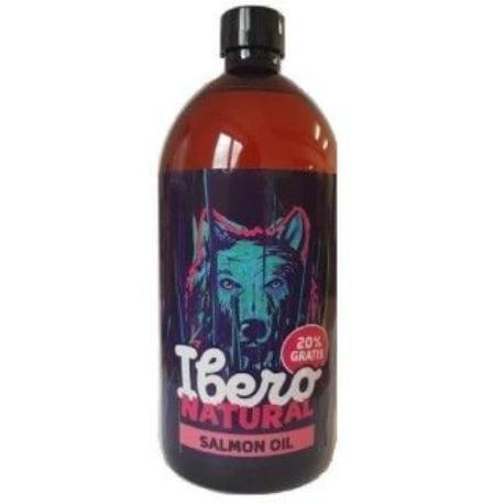Ibero NATURAL Lososový olej 1000ml s pumičkou