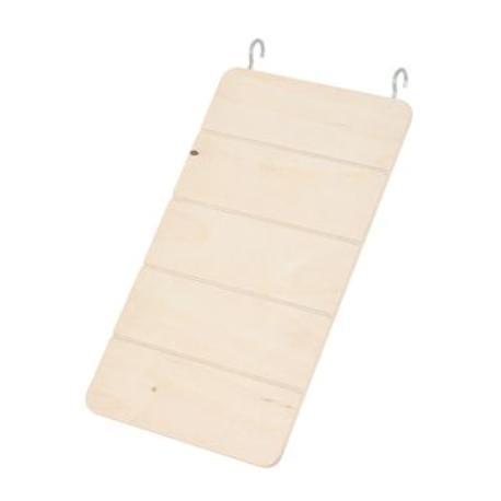 Žebřík pro hlodavce dřevěný 25x14cm Zolux