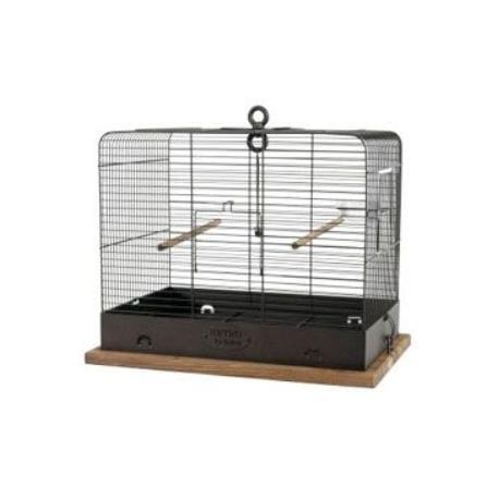 Klec ptáci RETRO CELESTINE kov/dřevo 34x27x44cm Zolux