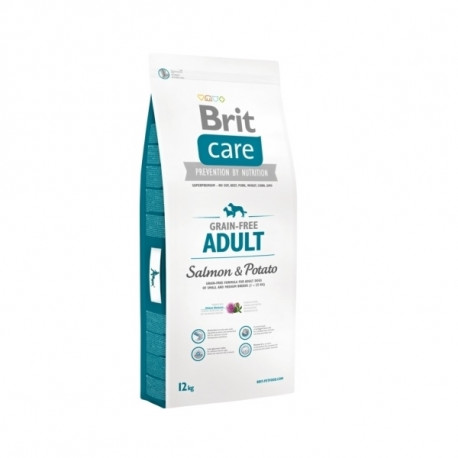 Brit Care Dog Grain-free Adult Salmon & Potato 12kg