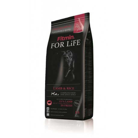 Fitmin pes  FOR LiFE Life Lamb & Rice 15kg