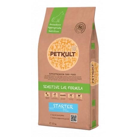 Petkult Dog Starter Sensitive Lamb & Rice 12kg
