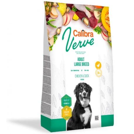 Calibra Dog Verve GF Adult Large Chicken&Duck 12kg