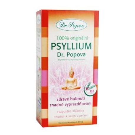 Dr.Popov Psyllium bylinný syp 50g